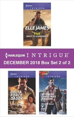 Harlequin Intrigue December 2018 - Box Set 2 of 2