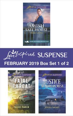 Harlequin Love Inspired Suspense February 2019 - Box Set 1 of 2