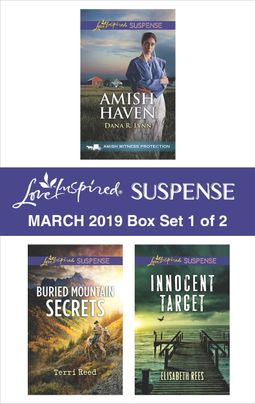 Harlequin Love Inspired Suspense March 2019 - Box Set 1 of 2