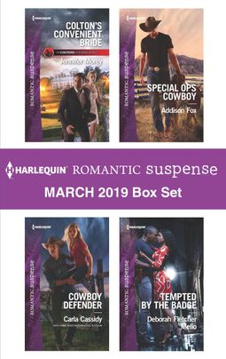 Harlequin Romantic Suspense March 2019 Box Set
