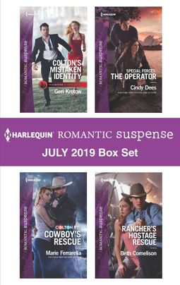 Harlequin Romantic Suspense July 2019 Box Set