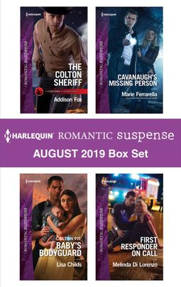 Harlequin Romantic Suspense August 2019 Box Set