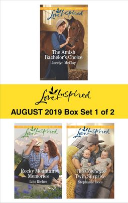 Harlequin Love Inspired August 2019 - Box Set 1 of 2