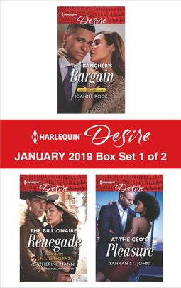 Harlequin Desire January 2019 - Box Set 1 of 2