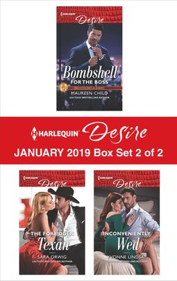 Harlequin Desire January 2019 - Box Set 2 of 2