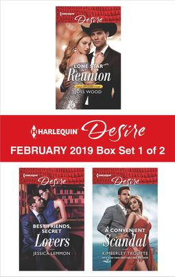 Harlequin Desire February 2019 - Box Set 1 of 2