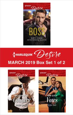 Harlequin Desire March 2019 - Box Set 1 of 2