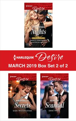 Harlequin Desire March 2019 - Box Set 2 of 2