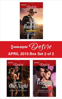 Harlequin Desire April 2019 - Box Set 2 of 2
