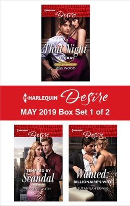 Harlequin Desire May 2019 - Box Set 1 of 2