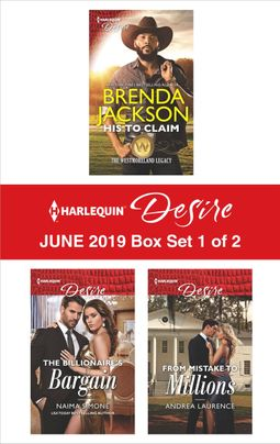 Harlequin Desire June 2019 - Box Set 1 of 2