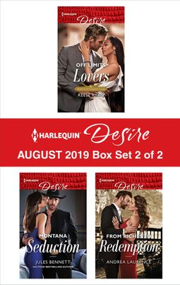 Harlequin Desire August 2019 - Box Set 2 of 2