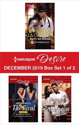 Harlequin Desire December 2019 - Box Set 1 of 2