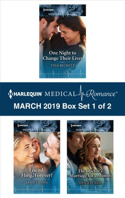 Harlequin Medical Romance March 2019 - Box Set 1 of 2