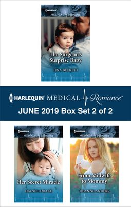 Harlequin Medical Romance June 2019 - Box Set 2 of 2