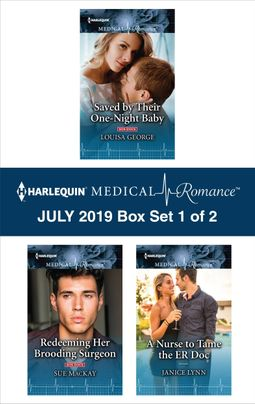 Harlequin Medical Romance July 2019 - Box Set 1 of 2