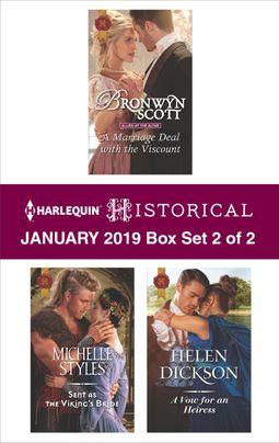 Harlequin Historical January 2019 - Box Set 2 of 2