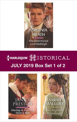 Harlequin Historical July 2019 - Box Set 1 of 2