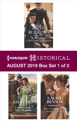Harlequin Historical August 2019 - Box Set 1 of 2