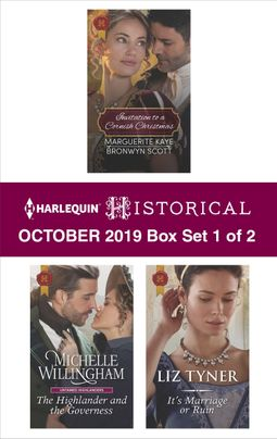 Harlequin Historical October 2019 - Box Set 1 of 2