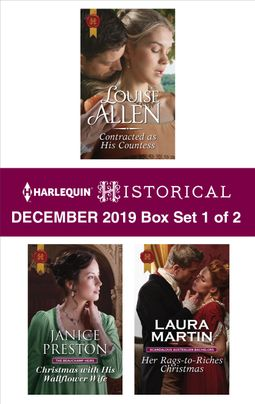 Harlequin Historical December 2019 - Box Set 1 of 2