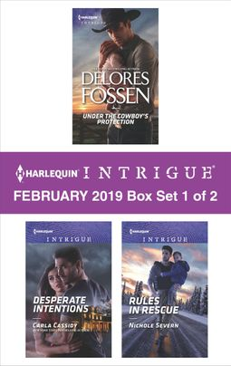 Harlequin Intrigue February 2019 - Box Set 1 of 2