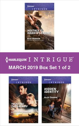 Harlequin Intrigue March 2019 - Box Set 1 of 2