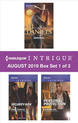 Harlequin Intrigue August 2019 - Box Set 1 of 2