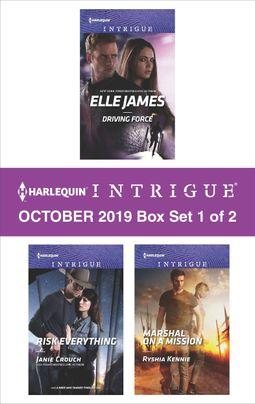 Harlequin Intrigue October 2019 - Box Set 1 of 2