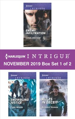 Harlequin Intrigue November 2019 - Box Set 1 of 2