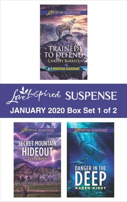 Harlequin Love Inspired Suspense January 2020 - Box Set 1 of 2