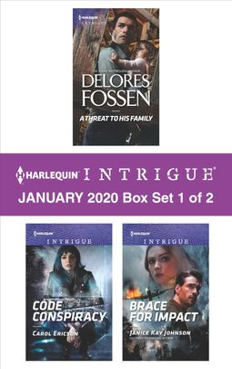 Harlequin Intrigue January 2020 - Box Set 1 of 2