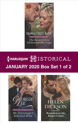 Harlequin Historical January 2020 - Box Set 1 of 2
