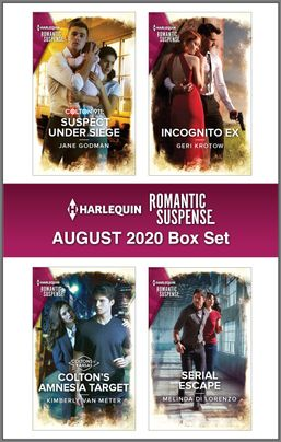 Harlequin Romantic Suspense August 2020 Box Set