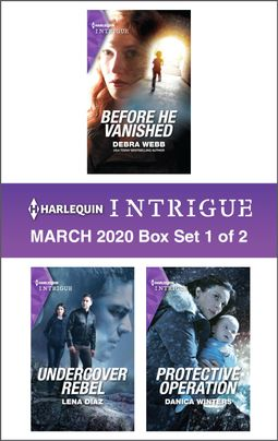 Harlequin Intrigue March 2020 - Box Set 1 of 2