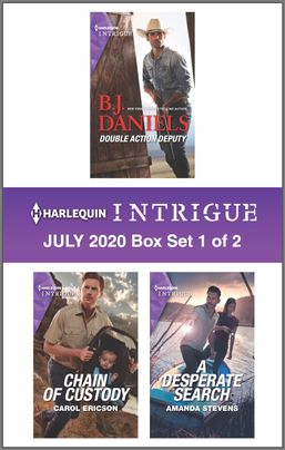 Harlequin Intrigue July 2020 - Box Set 1 of 2