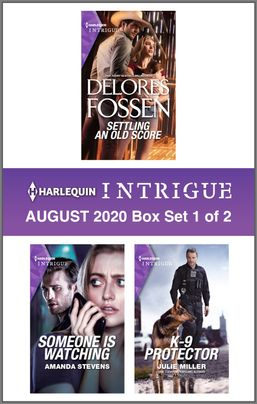 Harlequin Intrigue August 2020 - Box Set 1 of 2