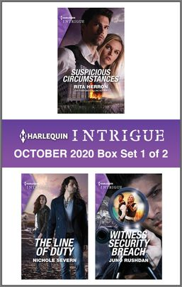 Harlequin Intrigue October 2020 - Box Set 1 of 2