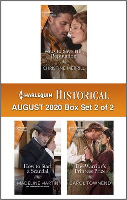 Harlequin Historical August 2020 - Box Set 2 of 2
