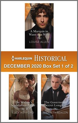 Harlequin Historical December 2020 - Box Set 1 of 2