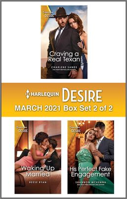 Harlequin Desire March 2021 - Box Set 2 of 2