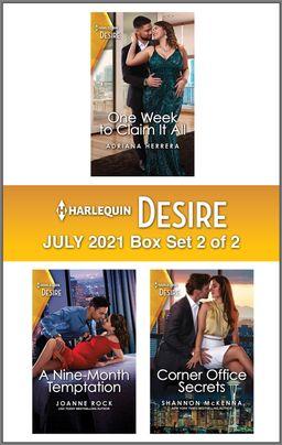 Harlequin Desire July 2021 - Box Set 2 of 2