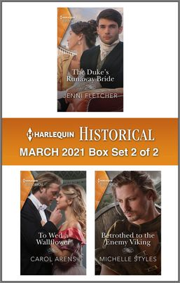 Harlequin Historical March 2021 - Box Set 2 of 2