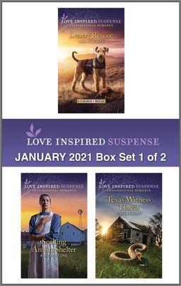 Harlequin Love Inspired Suspense January 2021 - Box Set 1 of 2