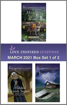 Harlequin Love Inspired Suspense March 2021 - Box Set 1 of 2