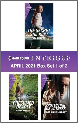 Harlequin Intrigue April 2021 - Box Set 1 of 2