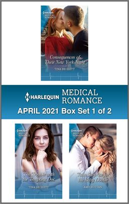Harlequin Medical Romance April 2021 - Box Set 1 of 2