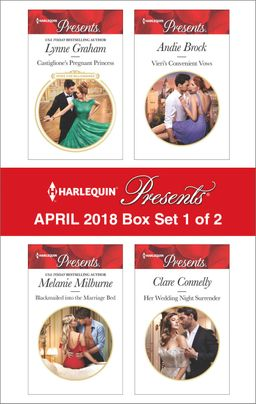 Harlequin Presents April 2018 - Box Set 1 of 2