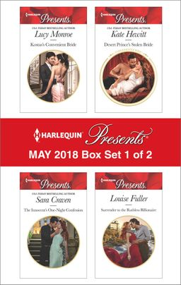 Harlequin Presents May 2018 - Box Set 1 of 2
