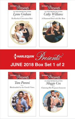 Harlequin Presents June 2018 - Box Set 1 of 2
